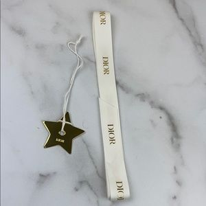 Dior Holiday 2019 Dior Star Metal Ornament Ribbon